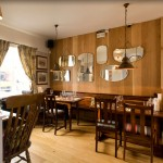 Chance for a quiet drink at the Jolly Thresher